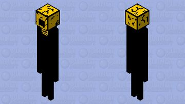 The Projectionist BENDY AND THE INK MACHINE Minecraft Mob Skin