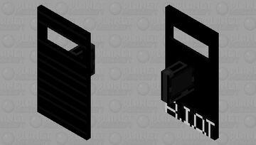 R.I.O.T Shield Minecraft Mob Skin