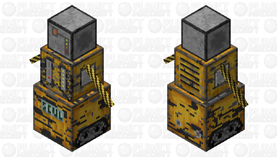 сталь Minecraft Skin