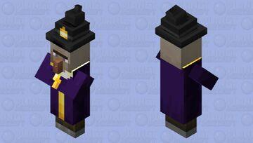 Witch Retextured Minecraft Mob Skin