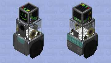 Snowball Defense Artificial Intelligence Minecraft Mob Skin