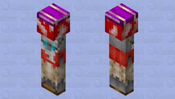 Smart fungus Minecraft Mob Skin