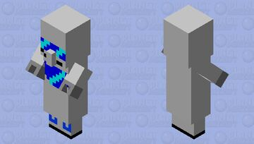 cybernetic villager Minecraft Mob Skin