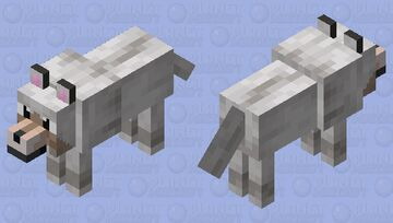 Slightly better HD dog skin Minecraft Mob Skin