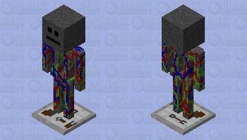 unfinished battle bot Minecraft Mob Skin