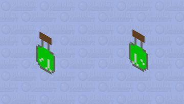 Potion of health shield Minecraft Mob Skin