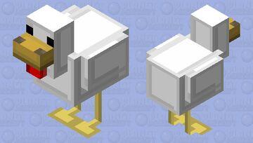 Tetris Chicken Minecraft Mob Skin