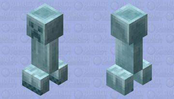 Stone Cold Creeper Minecraft Mob Skin