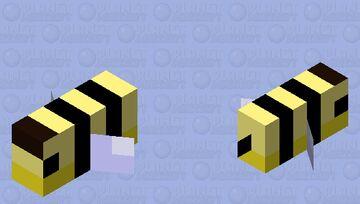 Bee Fish Minecraft Mob Skin