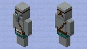 Warped forest pillager Minecraft Mob Skin