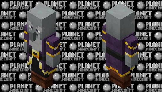Warlock / re-texturing Minecraft Skin