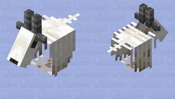 Goat - Skeletal Phantom Minecraft Mob Skin