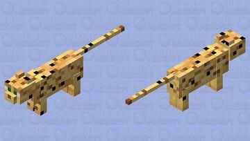 Leopard Minecraft Mob Skin