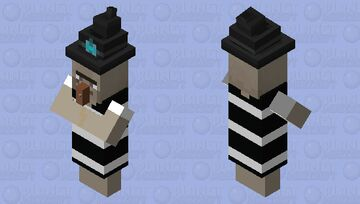 Bathing Suit Witch Minecraft Mob Skin