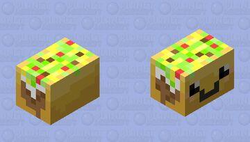 Flying TACO Minecraft Mob Skin