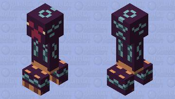 Midnight Creeper Minecraft Mob Skin