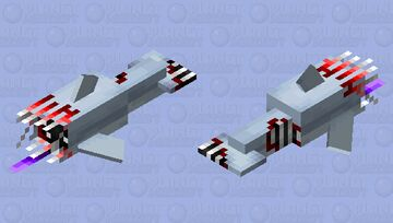 Infected dolphin Minecraft Mob Skin