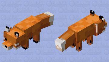 PMC Java Fox display glitch! For @Cyprezz Minecraft Mob Skin