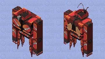 Buzzwole Minecraft Mob Skin