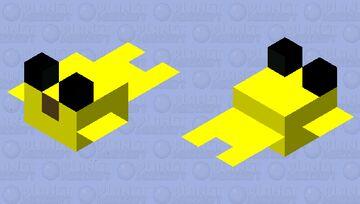 Simplified Puffer Fish 3 Minecraft Mob Skin