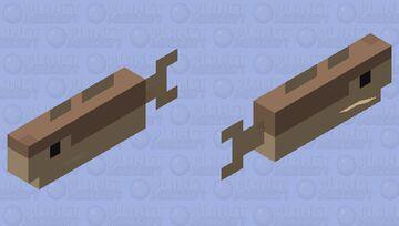 Plastic cod Minecraft Mob Skin