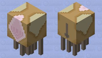 SCP-040-1c Minecraft Mob Skin
