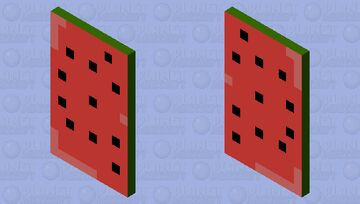 """""""Watermelon"""" (the abstract cape) Minecraft Mob Skin"""