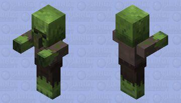Villager Zombie / re-texturing Minecraft Mob Skin