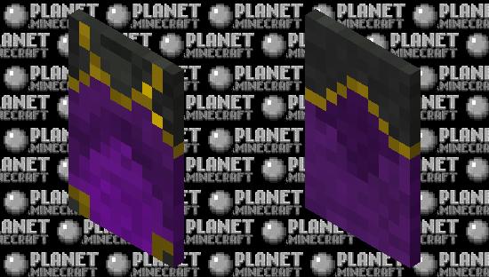 Purple Migration Cape Minecraft Skin