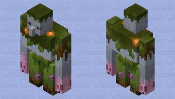 Lush golem (preparation for biome swap) Minecraft Mob Skin