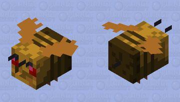 Pancake Bee W.I.P Minecraft Mob Skin