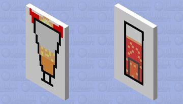Hazbin Hotel Cherry Bomb and Charlie Frappe by AmiYoshiko on YouTube Minecraft Mob Skin