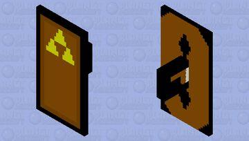 Custom Legend of Zelda shield Minecraft Mob Skin