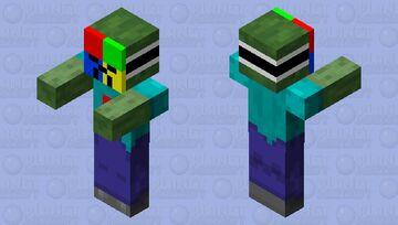 Windows Zombie 7 Minecraft Mob Skin