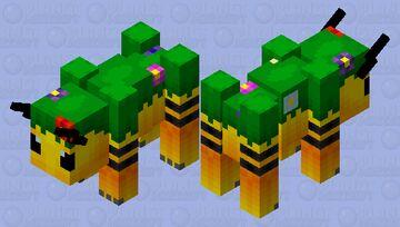 Grazer of the flower forest Minecraft Mob Skin