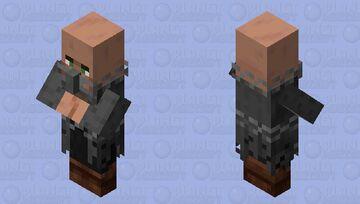 Villager prisoner of the illager / Remade Re-texturing Minecraft Mob Skin