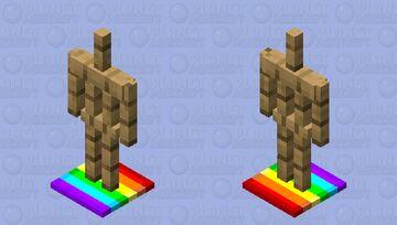 pride amor stand Minecraft Mob Skin