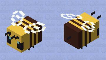 Bee Simplified (Pop-Reel) Minecraft Mob Skin