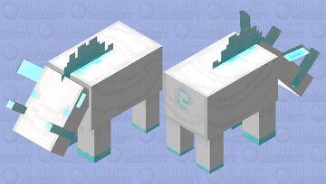 Frost Tusk Hoglin Minecraft Mob Skin