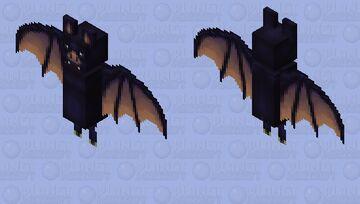 Realistic bat Minecraft Mob Skin