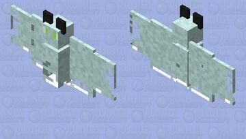 Ghost bat Minecraft Mob Skin