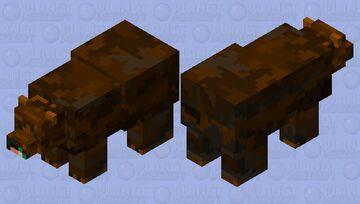 """Ursus Spelaeus"" the Prehistoric Cave Bear [Mob Skin Contest Entry] Minecraft Mob Skin"