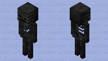 wither skeleton / original texture Minecraft Mob Skin