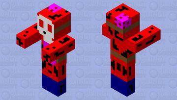 Zombie Shy Guy Minecraft Mob Skin