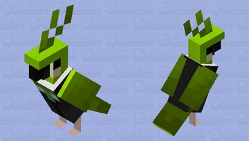 Dream in a suit Minecraft Mob Skin