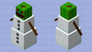 melon golem Minecraft Mob Skin