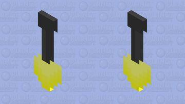 Golden Shovel Cape by Blade_51 Minecraft Mob Skin