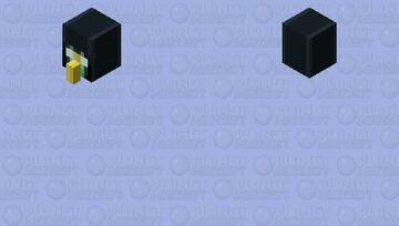 Ender chest golem head Minecraft Mob Skin