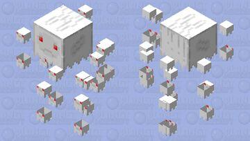 Better Baby Ghast (ver.2) Minecraft Mob Skin