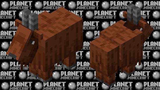 Brown goat Minecraft Skin